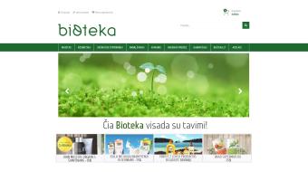 Mūsų darbai - Bioteka